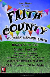 Faith County Theatre Poster